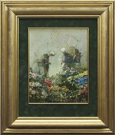 Jerzy Duda Gracz | Painting 975 (DUTCH), 1985 | oil, hardboard | 26 x 21 cm