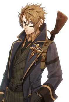 Most popular tags for this image include: anime, steampunk, anime guy, otome…