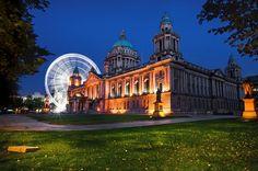 Belfast City Hall. Belfast, Northern Ireland.