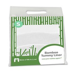 Cheap Bamboo Tummy Liner (3-Pack) (Small White) deals week