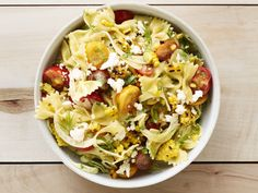 Corn and Tomato Pasta Salad recipe from Food Network Kitchen via Food Network-did not add fennel