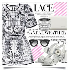 """""""In love with lace"""" by ailav9 ❤ liked on Polyvore featuring Prada and Henri Bendel"""