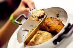 """Succulent Butter Chicken at """"Il Troia"""" (Trattoria Sostanza)"""