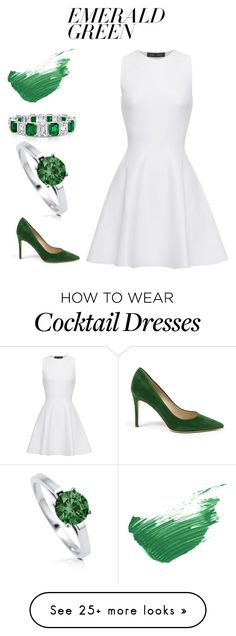 """Pops of Green #2"" by hideous on Polyvore featuring By Terry, BERRICLE, Proenza Schouler, contest, emeraldgreen, EmeraldCity and popsofgreen"