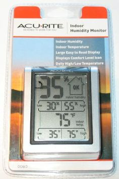 AcuRite 613 Indoor Humidity Monitor.