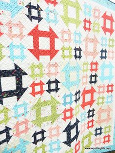 Introducing Lattice and Porch Swing! | A Quilting Life - a quilt blog a #fatquarterquilt pattern