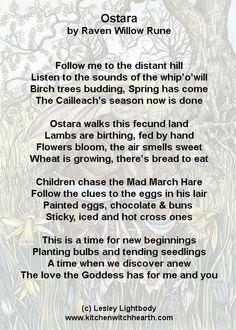 Beautiful Ostara poem