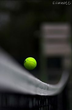 *Deuce - Tennis (Touch of Color) Great Photos, Cool Pictures, Color Splash Photo, Splash Photography, Art Photography, Green And Grey, Black And White, Tennis World, Gernal Knowledge