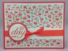 Stampin' Up! Pretty Petals DSP Stack and Birthday Blossoms www.thestampcamp.com
