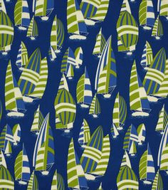 Laundry - Home Decor Outdoor Fabric-Regatta Club Maritime: outdoor fabric: home decor fabric: fabric: Shop | Joann.com