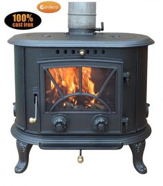 Buy Gardeco PENN kW Cast Iron Multi-Fuel Stove - Black securely online today at a great price. Gardeco PENN kW Cast Iron Multi-Fuel Stove - Black available today at Lo. Sand Fire Pits, Metal Shed, Multi Fuel Stove, Cast Iron Stove, Outdoor Heaters, Victorian Design, Log Burner, Garden Buildings, Kitchens