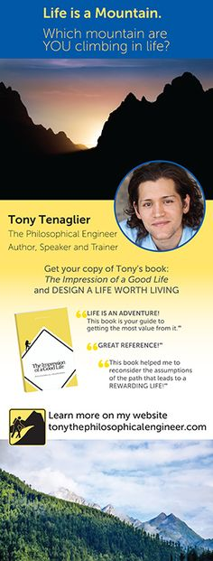 Author Tony Tenaglier promote his book and message with a large retractable banner, taking it to his book signings and every where he speaks! Learn more at www.backoftheroomproductions.com