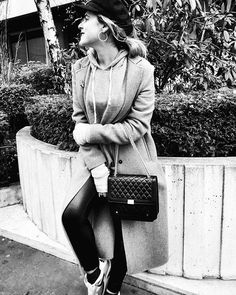 Happy last day of the year 💖 Ready for new adventure * **************#happy #girl #blogger #bloggerstyle #lastdayofyear #happiness #ootd #mood #december #goodvibes #blackandwhite #photography #monochrome #outfit #lookbook #paris #parisiangirl #bye2017 #fashion #fashiondiary #igersfrance #stylish #parisienne #look #love #igparis #streetstyle #styleblogger #casual #style