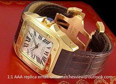 Cartier Santos 100 Yellow Gold W20071Y1