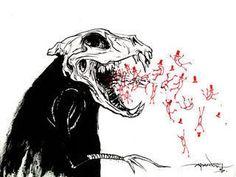 Alex Pardee Alex Pardee, Crazy Art, Creepy Things, Dope Art, Art Things, Weird Art, Character Development, Photo Look, Skull Art
