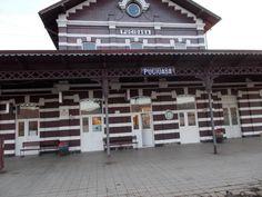 Pucioasa- Railway station - Romania