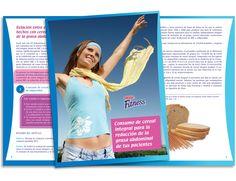 Diseño publicitario/editorial - Stop Diseño Gráfico - Diseño de Dossier Fitness 3 - Cereal Partners Worldwide - Nestlé México.