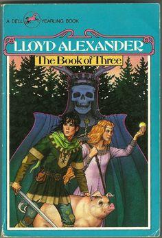 'The Book of Three' art by Jody Lee (Lloyd Alexander's Chronicles of Prydain)