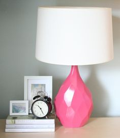 Glass jug table lamp love this for my bedroom decoration directions on making a table lamp out of a vase excuse to use my drill aloadofball Image collections