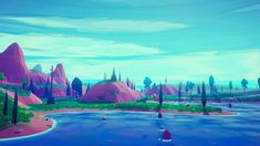 Low Poly Stylized Environment by Emek Ozben in 環境 - Marketplace Art Cube, Low Poly Games, Game Environment, Digital Storytelling, Unreal Engine, Environmental Art, Landscape Art, Game Design, Game Art
