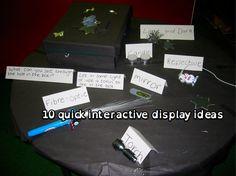 Ten Quick Interactive Display Ideas » for display corners