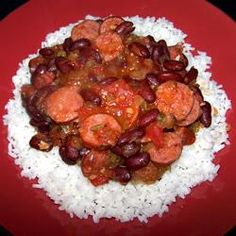 Jim's Zydeco Red Beans and Rice