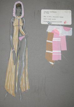 donfeld-retro-costume-sketch-claudia-cardindale-dont-make-waves-mgm-presscott-house