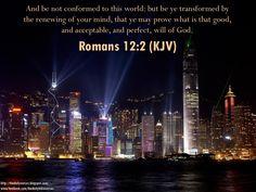 Daily Bible Verses: Romans 12:2