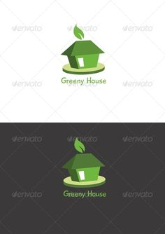 Realistic Graphic DOWNLOAD (.ai, .psd) :: http://jquery.re/pinterest-itmid-1003188575i.html ... Greeny House ...  building, company, eco, estate, green, home, house, logo, modern, professional  ... Realistic Photo Graphic Print Obejct Business Web Elements Illustration Design Templates ... DOWNLOAD :: http://jquery.re/pinterest-itmid-1003188575i.html