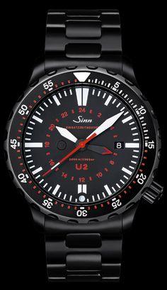 The Sinn U2 EZM as a Tactical Watch watch by Sinn