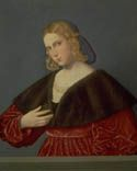 Vincenzo Catena, 1520-25 Portrait of a Woman; Venice  Another capelet  From The Realm of Venus