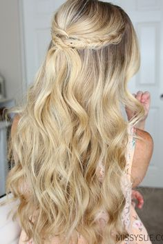 wedding hairstyles easy hairstyles hairstyles for school hairstyles diy hairstyles for round faces p Bridal Hairstyles With Braids, Bridal Hair Updo, Braided Hairstyles, Wedding Hairstyles, Cool Hairstyles, Teenage Hairstyles, Hairstyle Ideas, Hairstyles 2018, Formal Hairstyles