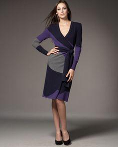Diane von Furstenberg Cashmere Sweater Dress - Neiman Marcus