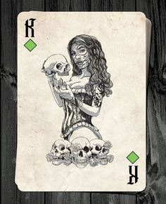 Stephen Lewis is raising funds for Day of the Dolls - Pin-Up Playing Cards Deck RELAUNCH! on Kickstarter! Classic Pin-up Playing Cards inspired by The Day of the Dead. Snacks For Work, Healthy Work Snacks, Stephen Lewis, Queen Of Spades, Card Tattoo, Cartomancy, Today Show, Funny Art, Deck Of Cards