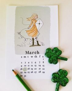 Março (Rose Hill Designs).
