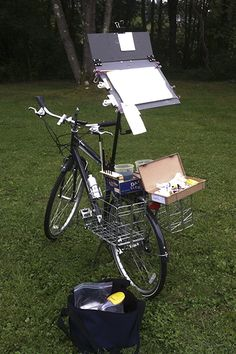 3d Art Drawing, Painting & Drawing, Art Drawings, Plein Air Easel, Pochade Box, Sketch Journal, Watercolor Techniques, Diy Box, Art Studios