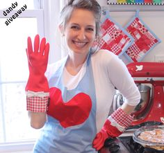 winning at dandy! Latex Gloves, Rubber Gloves, Flirty Aprons, Dandy, Giveaway, Dish, Play, Female, Pretty