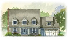Auburn | Traditional Architecture | 3 beds 2.5 baths 2862 SQ/FT | Front Elevation | Online house plans and custom, luxury home plans.#floorplan #houseplan #homeplan #dreamhome #interiordesign #exterior #layout #dwell #houzz #newbuild