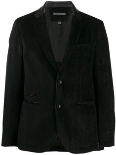 Corduroy Blazer, John Varvatos, Black Blazers, Women Wear, Stripes, Long Sleeve, Boys, Sleeves, Jackets