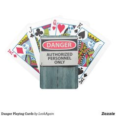 Danger Playing Cards