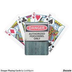 Danger Playing Cards