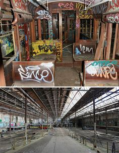 Decay Down Under: 7 Abandoned Wonders of Australia - train depot, Glebe