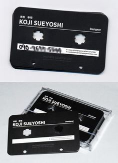 Post image for Koji Sueyoshi Tape-shaped Business Card