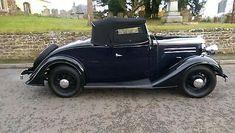 1935 Vauxhall Light Six 2 Door 4 Seater Roadster with coachwork by Duple