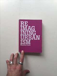 REIMAGINING URBANISM design by BCP, published by Listlab #coverinspiration #bcpbcn