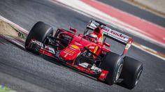 Kimi Raikkonen, Ferrari, Circuit de Catalunta, 2017 tyre test, 2016