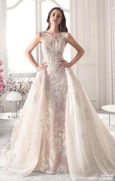 f8cfc5b9f8c6ba Demetrios 2019 A-line Bridal Gown Trouwjurken 2018