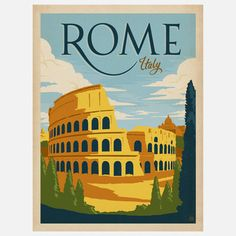 Anderson Design Group: Rome Print