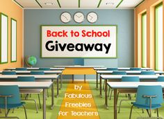 Back to School Giveaways!!!