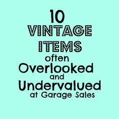 10 vintage items often overlooked and undervalued at garage sales Ever go vintage shopping & feel like the good stuff already sold? Learn the 10 vintage items often overlooked at garage sales, & finally get the good stuff! Thrift Store Shopping, Thrift Store Crafts, Thrift Store Finds, Shopping Hacks, Thrift Stores, Thrift Store Refashion, Goodwill Finds, Online Thrift, Online Shopping